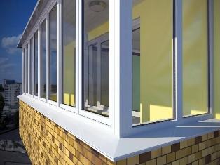 Остекление балкона пластиковыми окнами: особенности и достоинства