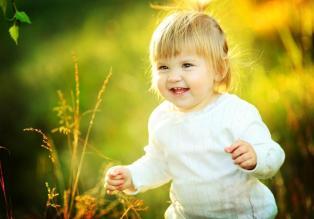 Улыбка ребенка - это лучик счастья