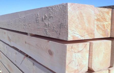 Преимущества строительного бруса